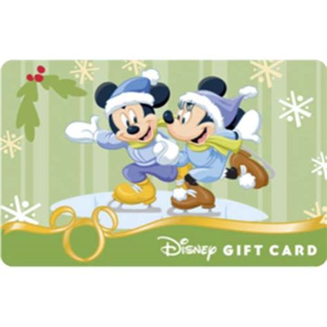 Disney On Ice Gift Card - your wdw store disney collectible gift card ice skating minnie and mickey