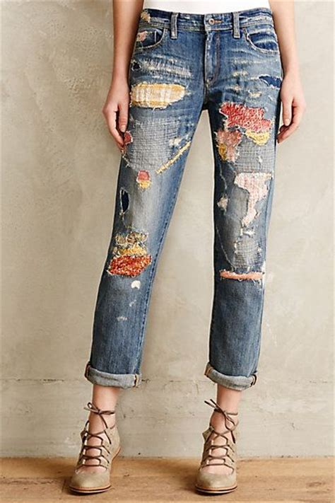 Patchwork Denim Trend - 21 ways to follow the patchwork trend pretty designs