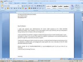 Cover Letter Resume Cover Letter Example Example of