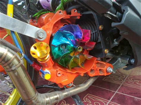 Kipas Variasi Honda Beat modifikasi honda beat bagian cvt modifikasi motor