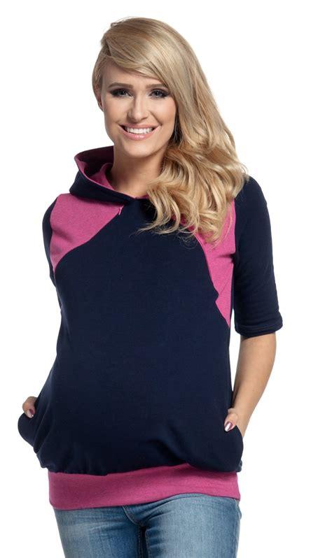 clothing shoes accessories womens clothing maternity nursing happy mama women s nursing hoodie breastfeeding contrast