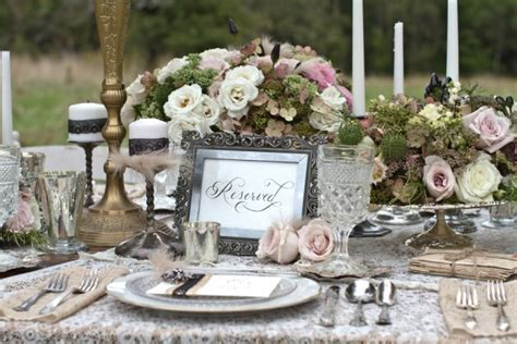 Antique Pink and Silver Tabletop from Danielle Pasternak