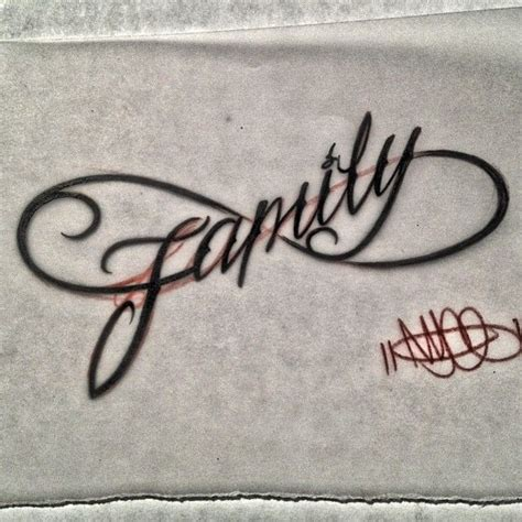 infinity family tattoo designs infinity family nycelettering script fonts family