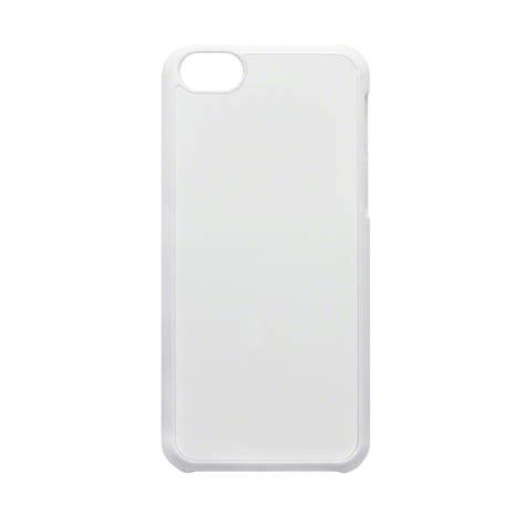 White Cas Ne blank 2d aluminium plate sublimation plastic iphone 5c