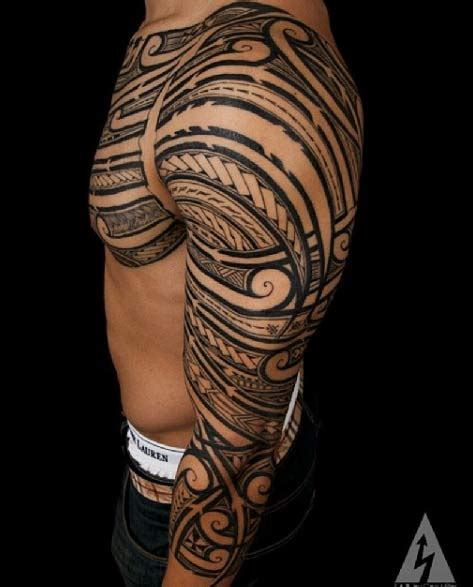 1000 ideas about polynesian tattoo sleeve on pinterest