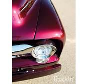 Burgundy Red Metallic Car And Truck Enamel Paint  Dark