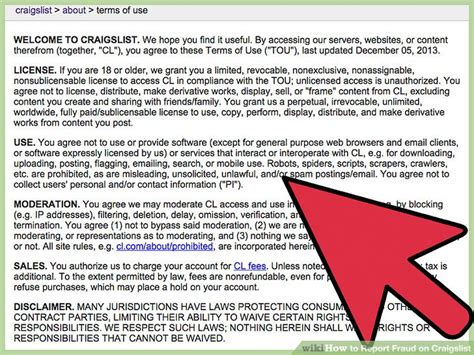 section 8 fraud hotline number 4 ways to report fraud on craigslist wikihow