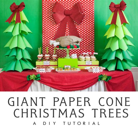 large paper christmas tree let s crafts diy projects and recipes fdtr 196