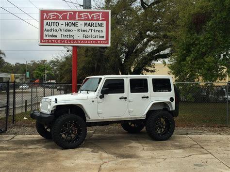 Jeep Wrangler Unlimited 6 Inch Lift 2015 Jeep Unlimited Orlando Custom Audio