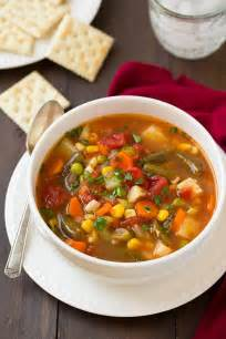 vegetable soup cooking bloglovin