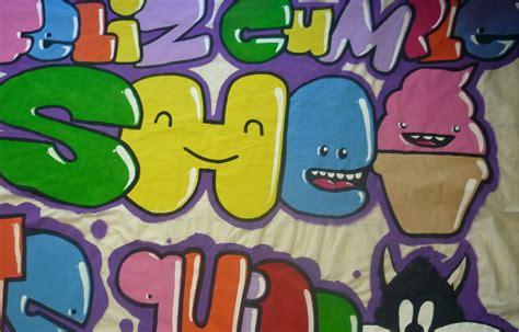 imagenes de feliz cumpleaños en graffiti haciendo manta de feliz cumplea 241 os para shei youtube