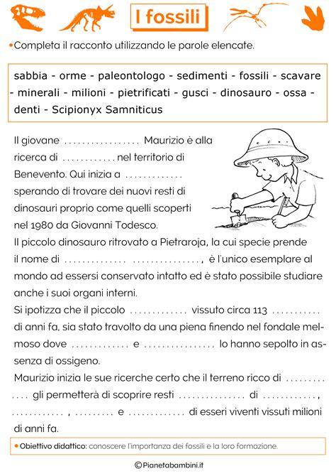 baffo natale testo schede didattiche fossili 3 png 2480 215 3508 storia