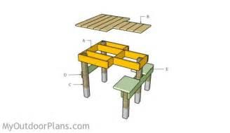 Portable Shooting Bench Free Shooting Bench Plans Myoutdoorplans Free