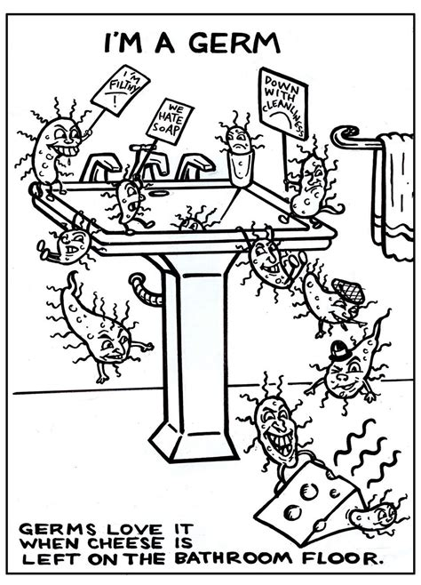 preschool germ coloring pages mymailmanhasatail