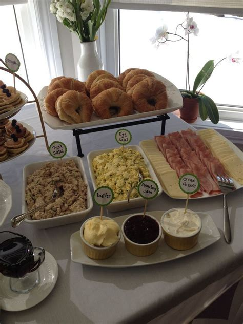 Brunch Baby Shower Food by Best 25 Baby Shower Brunch Ideas On Breakfast