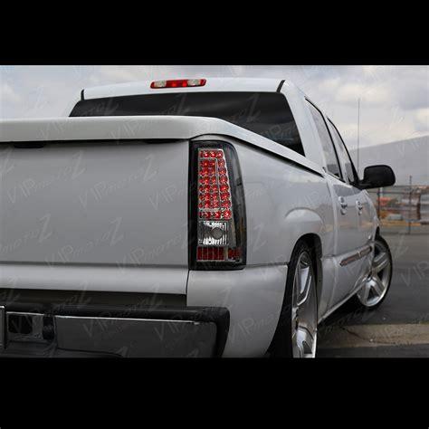 2005 chevy silverado tail light assembly 2003 2004 2005 2006 chevrolet silverado chrome led brake