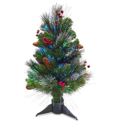 national tree company 2 ft fiber optic crestwood spruce