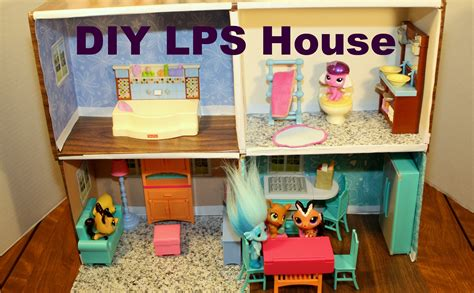 how to build a doll house how to make a littlest pet shop doll house diy htm