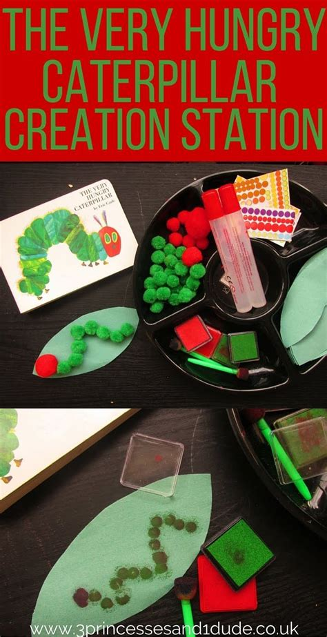 activity time the hungry caterpillar creation