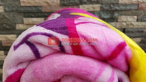 Selimut Bulu Hk 110x140cm selimut new seasons grosir motif anak murah