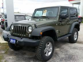 Jeep Wrangler Ontario New And Used Jeep Wrangler Cars For Sale In Orillia