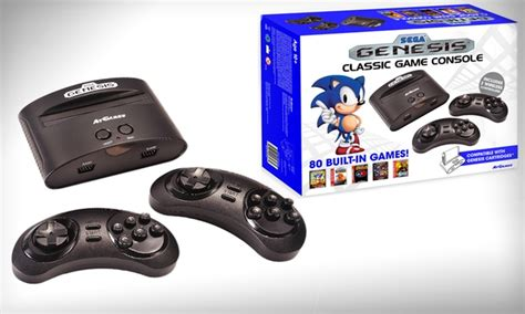 original price of sega genesis 39 99 for sega genesis classic console groupon