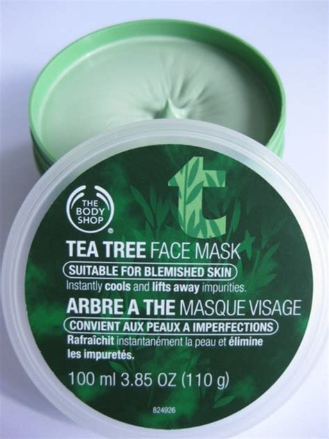 Pelembab Tea Tree The Shop product review the shop tea tree mask