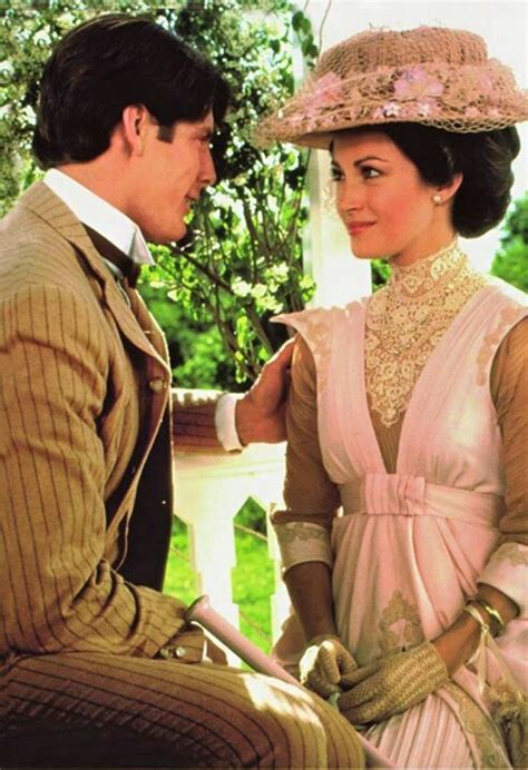 christopher reeve plays somewhere in time jane seymour looked remarkable in her