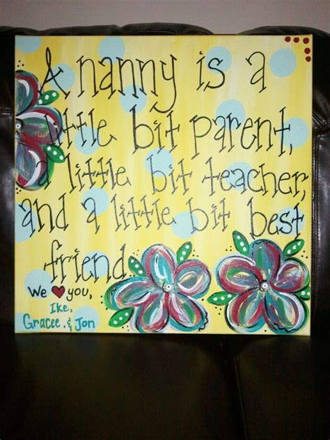 a christmas gift made for quot nanny quot gift ideas pinterest