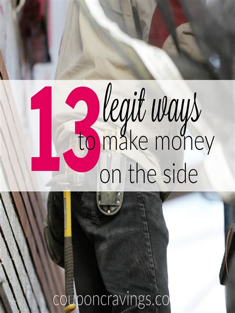 Making Money On The Side Online - can anyone make money online yes here are 13 legit ways