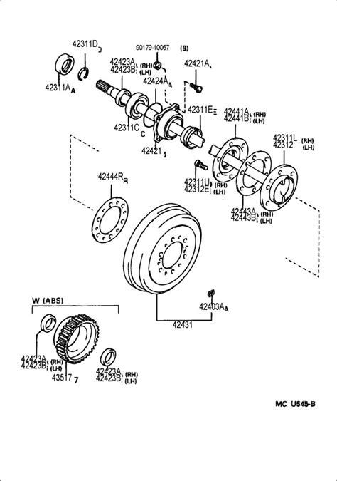 diagram exle problems rear axle problems toyota 4runner forum largest 4runner forum