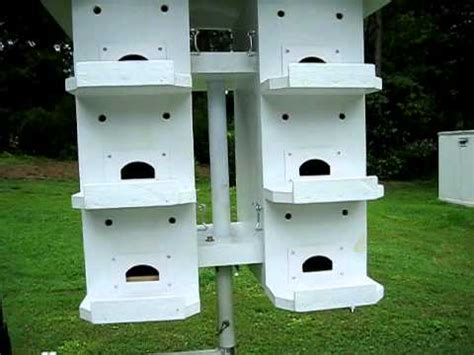 purple martin house youtube