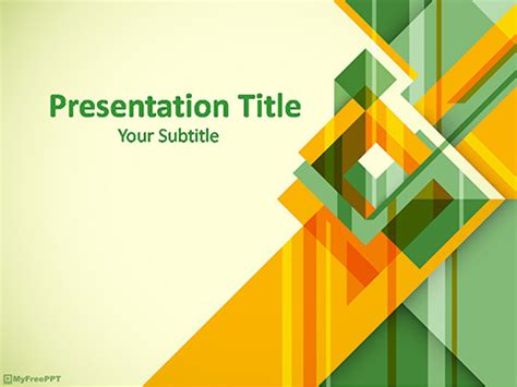abstract template powerpoint free abstract design