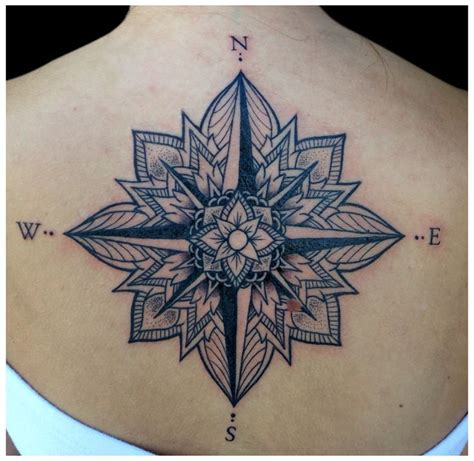 mecca tattoo best 25 mandala compass ideas on