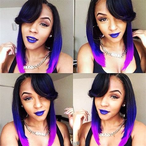 sew in weave purple to pink sew in 1000 images about colorful hair on pinterest pink hair