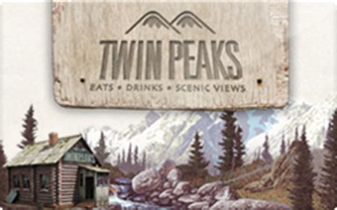 Twin Peaks Gift Card - buy twin peaks gift cards raise