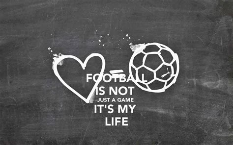 Football My football is not just a it s my poster