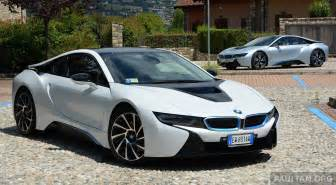 driven bmw i8 in hybrid sports car in milan image 329774