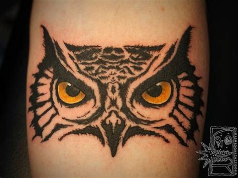 owl tattoo   arm  legthe detail   eyes  awesome christ rigoni  holdfast