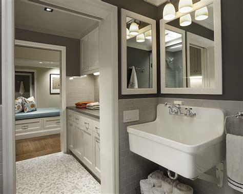 mudroom bathroom ideas laundry room sink contemporary laundry room artistic