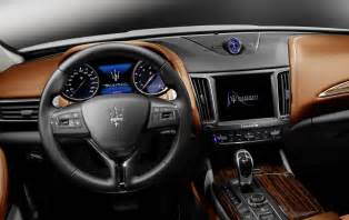 Maserati Interior New Maserati Levante Suv Detailed In Geneva Just As