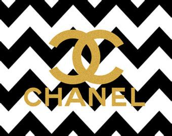 Casing Iphone X Coco Chanel Pattern Logo Custom Hardcase Cover a4 printable chevron and gold chanel logo wall