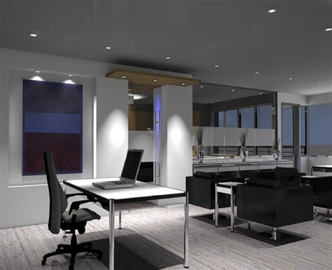 Contemporary Office Space Ideas Modern Home Office Modern House