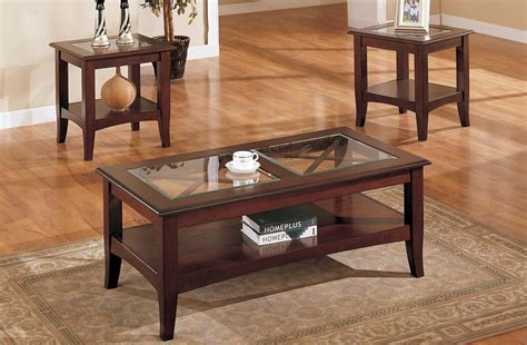 Wonderful Coffee And End Table Set For Living Room Living Room End Table Sets