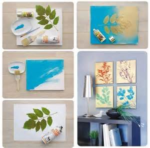 Diy Home Wall Decor Ideas by Easy Diy Projects For Home With Inexpensive Things
