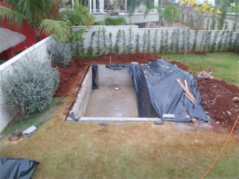 Cheap Way To Build Your Own Swimming Pool Home Design How To Build A Backyard Pool