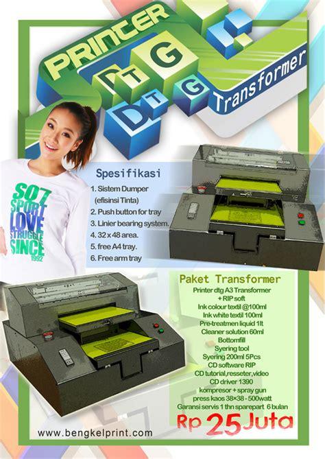 Printer Dtg Rakitan jual printer dtg a3 murah printer dtg jakarta