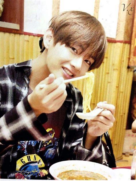 kim taehyung eating bts boyfriend taehyung k pop amino