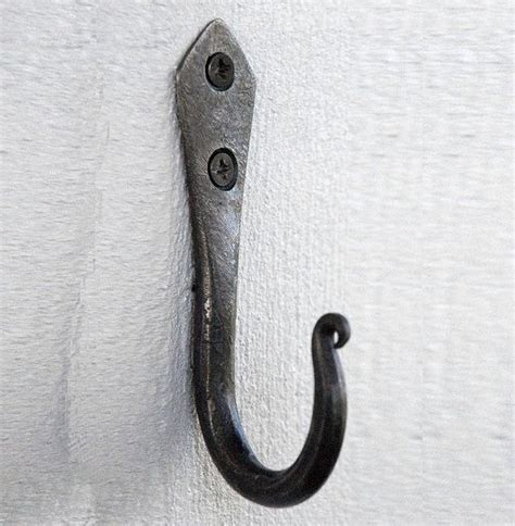 hand coat hooks hand forged coat hook hand forged blacksmithing