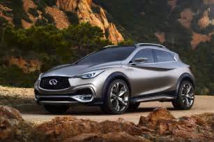 Infiniti Compact Suv Infiniti Qx30 Concept Revealed Will Go On Sale In 2016
